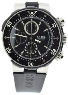 Oris Prodiver 7630 Titanium & Rubber Automatic 47mm Mens Watch
