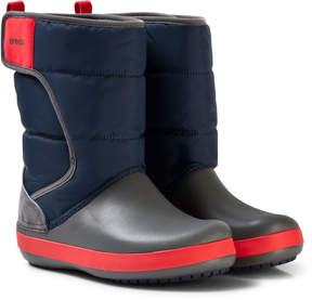 Crocs Navy/Slate Grey LodgePoint Snow Boot K