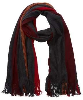 Tommy Bahama Wide Stripe Wool Wrap Scarf