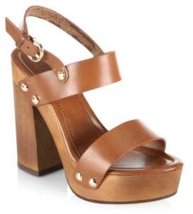 Joie Dea Leather Platform Sandals