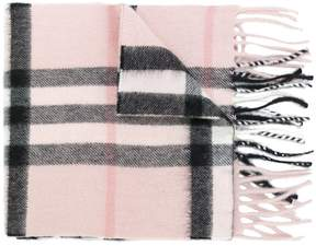 Burberry checkered scarf