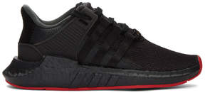 adidas Black EQT Support 93/17 Sneakers