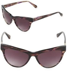 Zac Posen Women's Farrow 55MM Square Sunglasses