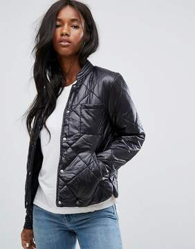 Noisy May Quilted Puffer Jacket