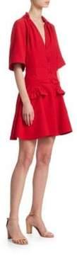 Carven Darted Mini Dress