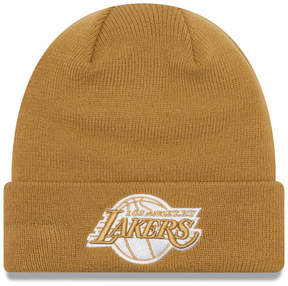 New Era Los Angeles Lakers Fall Time Cuff Knit Hat