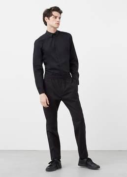 Mango Outlet Slim-fit raglan sleeve shirt