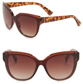 Sam Edelman 64MM Shield Sunglasses