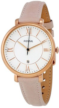 Fossil Jacqueline White Dial Ladies Casual Watch