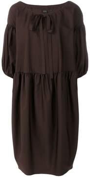 Aspesi gathered sleeves dress