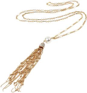 Amrita Singh Austrian Crystal & Faux Pearl Athena Pendant Necklace
