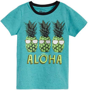 Epic Threads Little Boys Pineapple Graphic-Print T-Shirt, Created for Macy's
