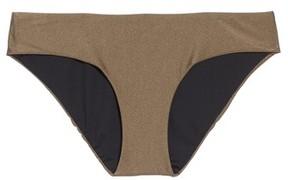 Becca Women's Reversible Shimmer Hipster Bikini Bottoms