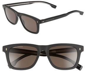 BOSS Men's 52Mm Sunglasses - Black