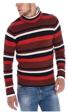 Paolo Pecora Men's Red Wool Sweater.