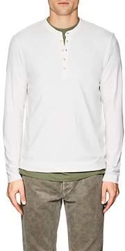 Massimo Alba Men's Cotton-Cashmere Jersey Henley