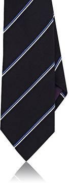 Ralph Lauren Purple Label Men's Diagonal-Striped Silk-Cashmere Necktie
