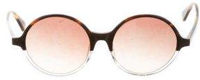 Diane von Furstenberg Olga Round Sunglasses