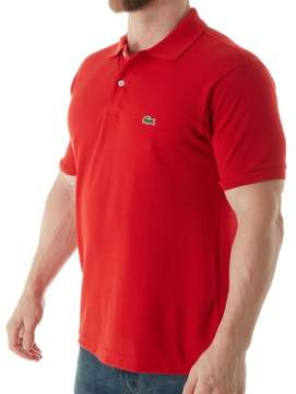 Lacoste L1212-51 Classic Pique 100% Cotton Short Sleeve Polo (Red 4XL)