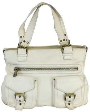 Marc Jacobs Limited Edition White Leather Tote Bag - WHITE - STYLE
