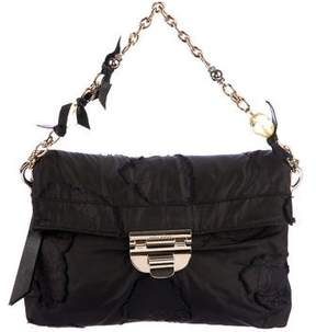 Nina Ricci Raw-Edge Flap Bag