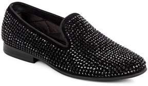 Steve Madden Men's P Diddz Textured Slip-On Dress Shoe