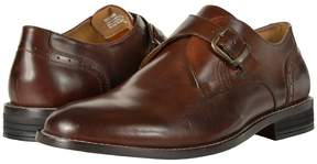 Nunn Bush Sabre Plain Toe Dress Casual Monk Strap Men's Plain Toe Shoes