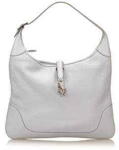 Hermes Pre-owned: Clemence Trim Ii 38. - GRAY - STYLE