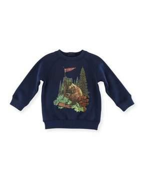 Stella McCartney Billy Bear Graphic Sweatshirt, Size 12-36 Months