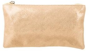 Charlotte Olympia Metallic Suede Pouch