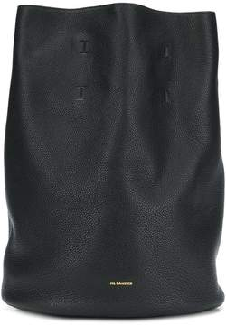Jil Sander logo plaque backpack