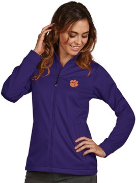 Antigua Women's Clemson Tigers Waterproof Golf Jacket