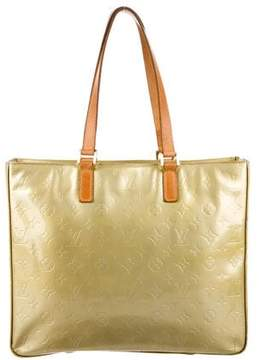 Louis Vuitton Vernis Columbus Tote - GREEN - STYLE