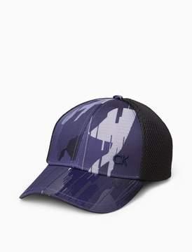 Calvin Klein camo logo baseball cap