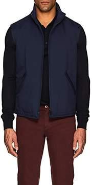 Loro Piana Men's Marlin Reversible Tech-Twill & Virgin Wool-Blend Vest