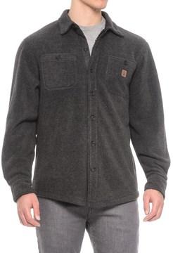 Coleman Solid Sherpa Bonded-Fleece Shirt Jacket (For Men)