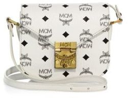 MCM Patricia Visetos Coated Canvas Crossbody Bag