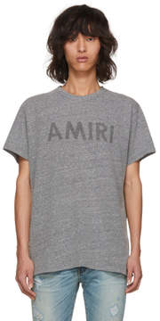 Amiri Grey Logo T-Shirt