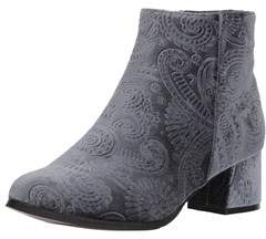 Qupid Women's Velvet Bootie Ankle Boot.