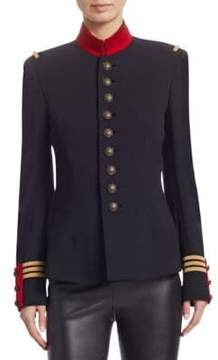 Ralph Lauren Collection Iconic The Officer's Double-Faced Wool Jacket