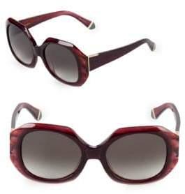 Zac Posen Ingrid 52MM Square Sunglasses