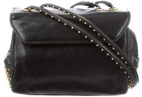 Judith Leiber Leather Studded Bag