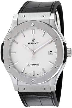 Hublot Classic Fusion Opaline Dial Titanium Automatic 45 MM Men's Watch