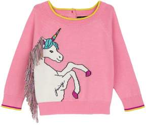 Juicy Couture Intarsia Unicorn Sweater for Baby