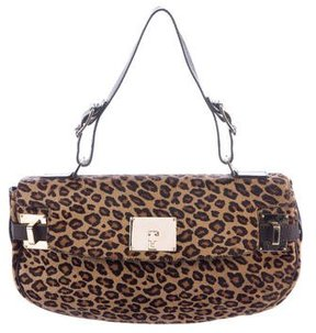 Lambertson Truex Ponyhair Shoulder Bag