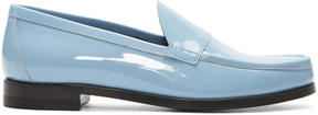 Pierre Hardy Blue Hardy Loafers