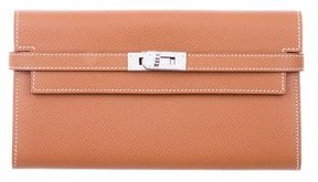 Hermes Epsom Kelly Longue Wallet - BROWN - STYLE