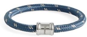 Miansai Men's Barrel Casing Nylon Woven Bracelet