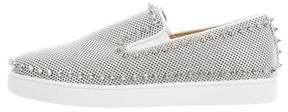 Christian Louboutin Pik Boat Flat Sneakers w/ Tags
