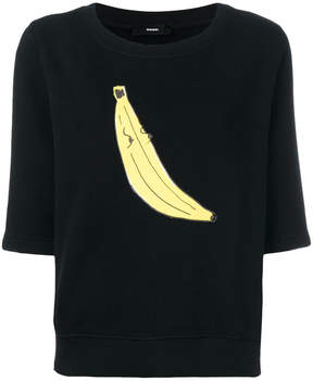 Diesel banana print top